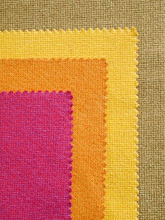 Sample hot tone color fabric for making furniture Horizontal photo