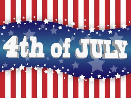 Die Fourth Of July-Unabhängigkeitstag Standard-Bild - 9771826