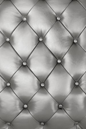 Silber Leder Textur Hintergrund schmücken Standard-Bild - 11638603