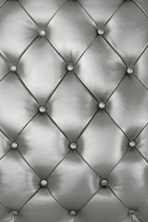 Silver leather texture decorate background photo