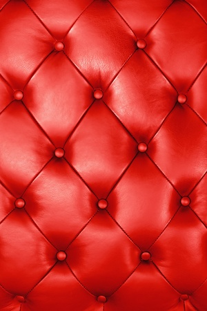 Red leather texture decorate background photo