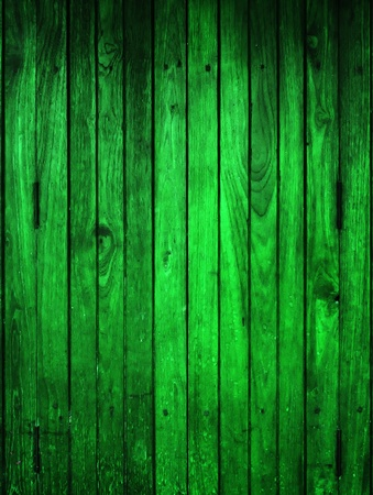 Texture of Green Wood panel for background vertical Stock Photo - 12070477