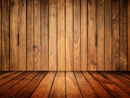 background pattern: Old wood room texture for web background Stock Photo