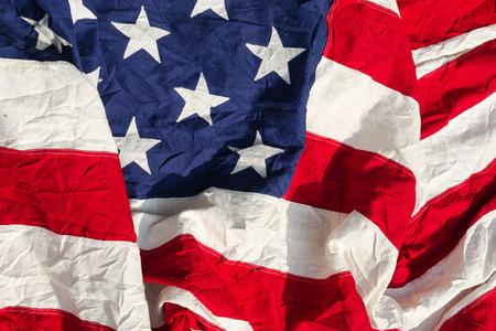bandera estados unidos: Bandera de los Estados Unidos Viejo Tela