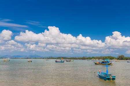 Fishing  boat in Andaman sea of  Thailand