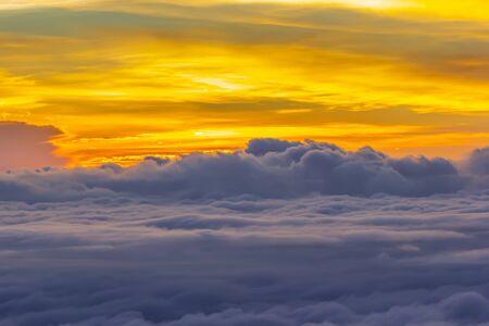 Nubes, hermoso fondo de la naturaleza en Tailandia