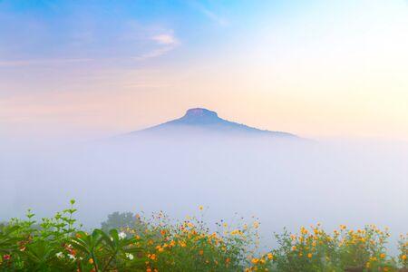 Paisaje natural para relajarse en Phu Luang, provincia de Loei, Tailandia