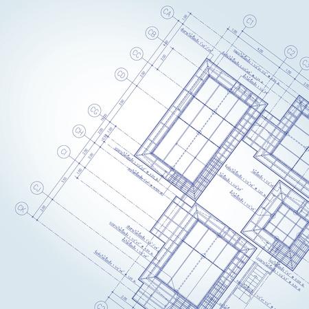 blue print: Vector of Blue print architect