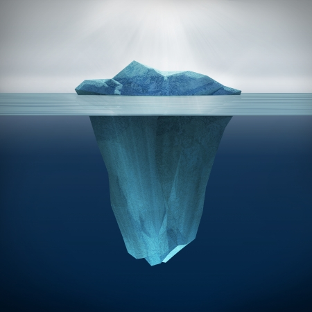 3d render of Iceberg