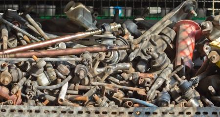 scrap metal: Sfondo Scrap Metal