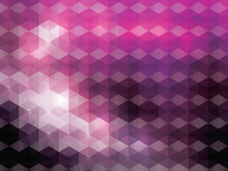 de focused: Abstract mosaic background Illustration