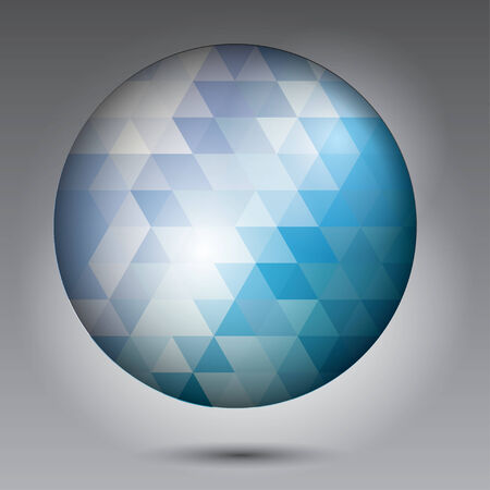 Abstract Ball of background Vector
