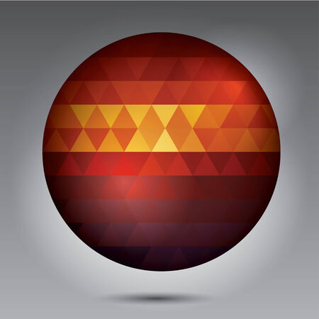 de focused: Abstract Ball of background