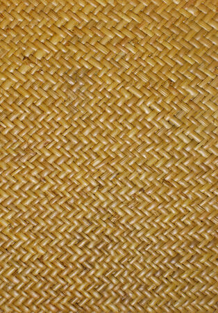 Retro woven wood pattern background photo