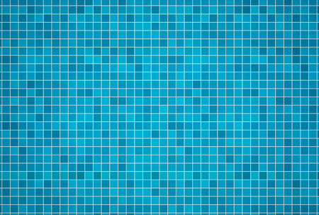 3d render background of swimming pool tiles photo