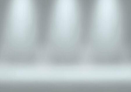 lighting background: Spotlight in studio of Backgrounds Stock Photo