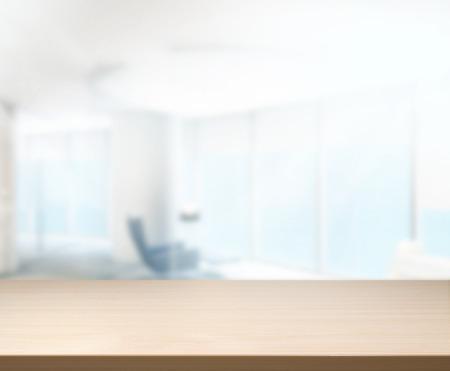 oficina: Tabla de madera de fondo en la oficina Foto de archivo