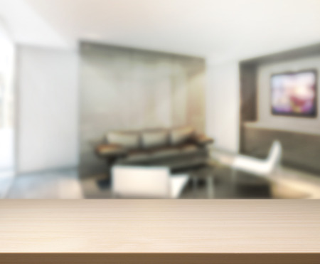 place of living: Wood Table Of Background in Living room