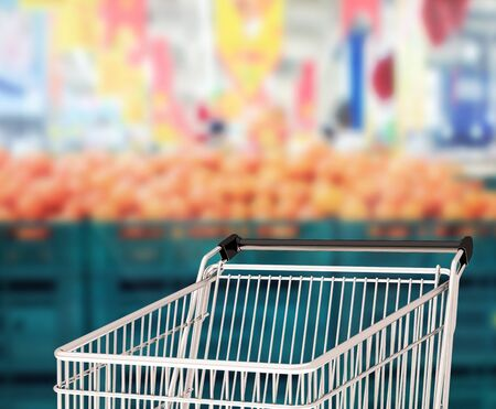 retail place: Abstract blur shopping market Stock Photo