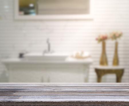 bathroom: Mesa y Blur Interior de Antecedentes