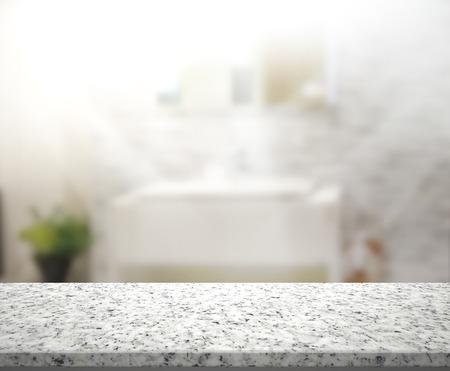 cuarto de ba�o: Mesa y Blur Interior de Antecedentes