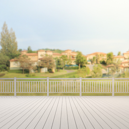 home design: Balcony And Terrace Of The Blur Exterior Background