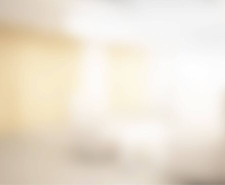 corridors: Abstract White Blur Interior Of The background Stock Photo