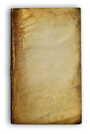 bank book isolated on white background