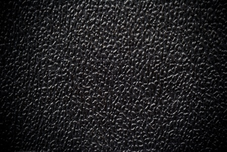 texture from black plastic