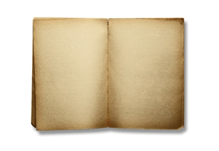 bank book isolated on white background  photo