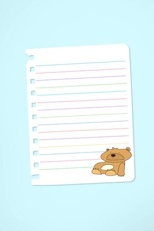 Paper notebook Stock Photo - 11291836