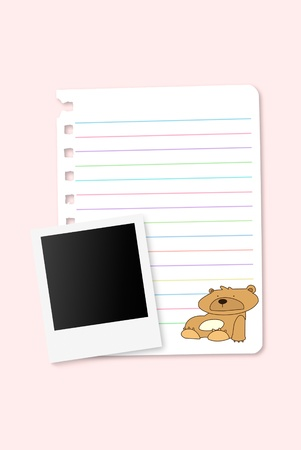 Paper notebook with bank photograph Stock Photo - 11291834