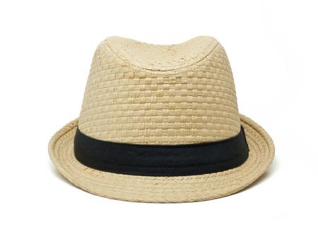 straw hat: Hat