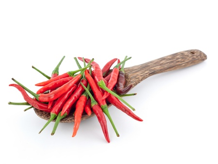 Pimentas de piment�o vermelho