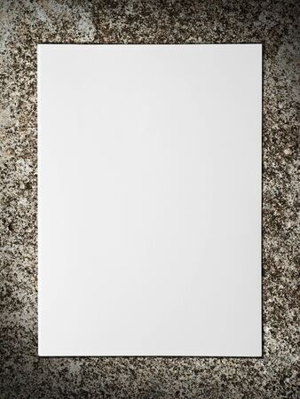 wall paper texture: White paper on concrete wall
