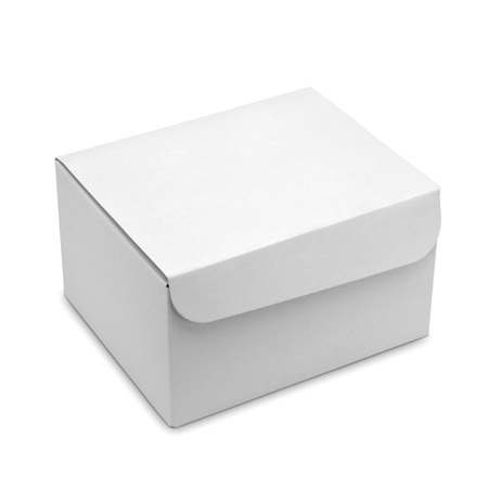 White box isolated Stock Photo - 15085936