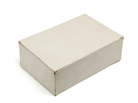 Recycle paper box isolated Stock Photo - 15085970