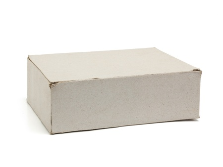 Recycle paper box isolated Stock Photo - 15085955