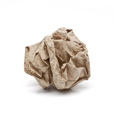 wastrel: Paper crumple ball