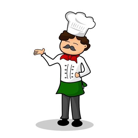 Chef in uniform  Stock Vector - 16641755