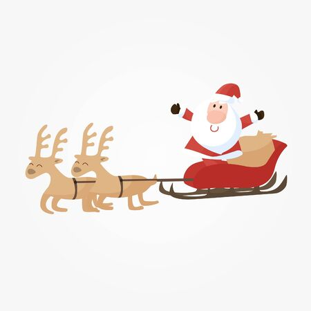 snowball: Santa Claus Illustration