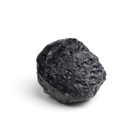 Tektite Meteorite  Stock Photo