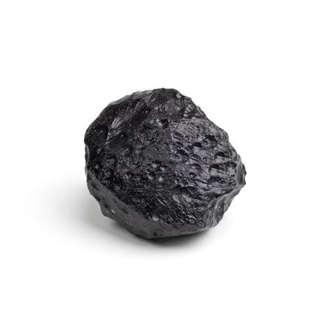 silicone: Tektite Meteorite  Stock Photo
