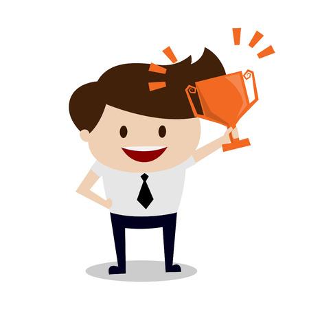 Business man - The winner