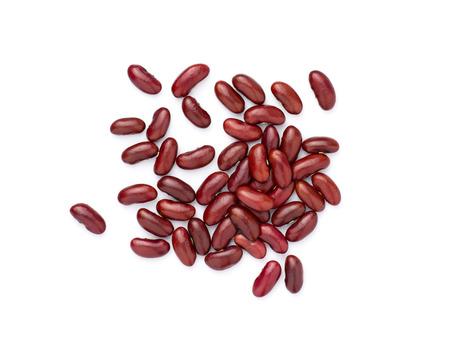frijoles rojos: Frijoles aislados en fondo blanco