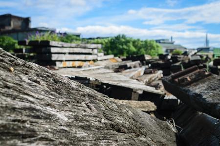 sleeper: Old railway sleeper