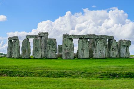 wiltshire: Stonehenge, Wiltshire, UK. Stock Photo