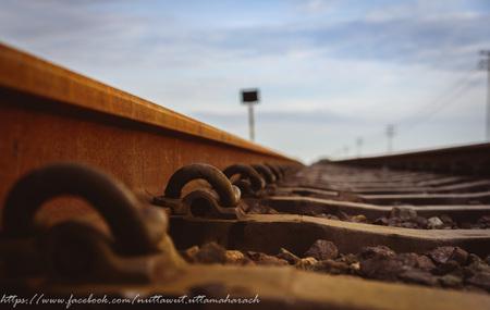 Matériel ferroviaire Anchor. mise au point sélective Banque d'images - 51647153