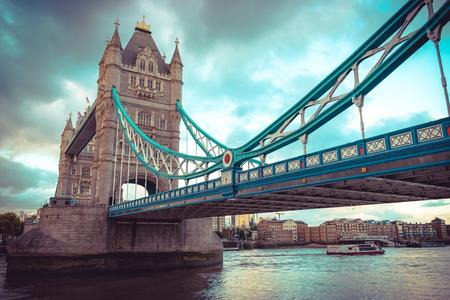 Tower Bridge at London, UK.