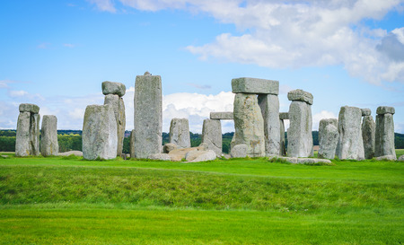 uk: Stonehenge, Wiltshire, UK. Stock Photo